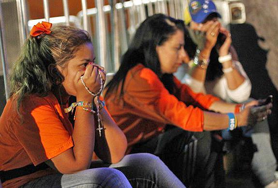 seguidores capriles lloran