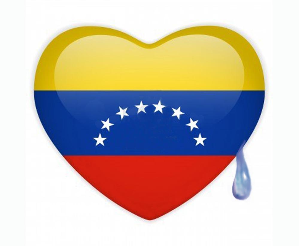 corazón bandera lagrima