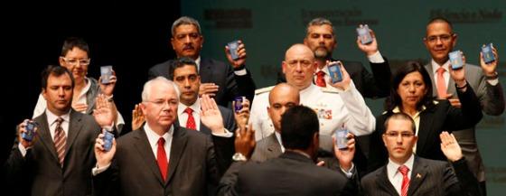"""Aranguibel:""""Habría sido una traición al pueblo que Maduro nombrara otro gabinete distinto"""""""