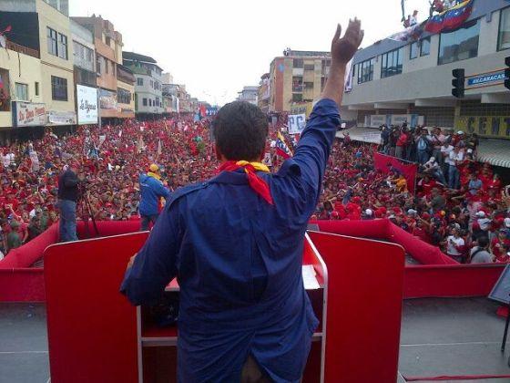 """""""Lo que está´haciendo Maduro es muy alentador para la Revolución"""""""