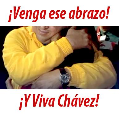 chavez abrazo 2013