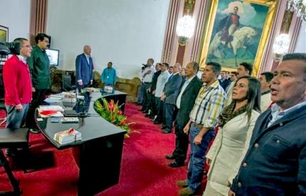 maduro alcaldes oposicion