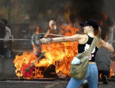 Resultado de imagen para imagenes de violencia en venezuela