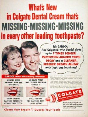 1956 Colgate Dental Cream