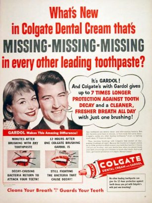1956 Colgate Dental Cream