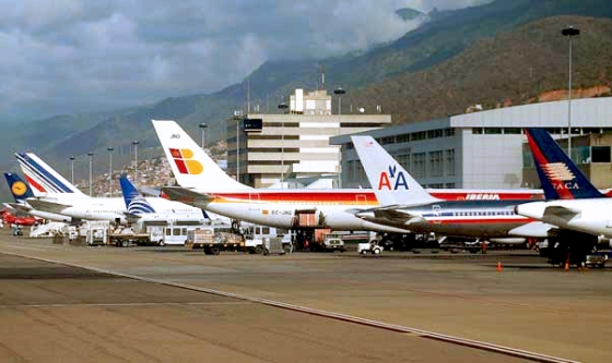 ¿Qué pasa con las líneas aéreas en Venezuela?