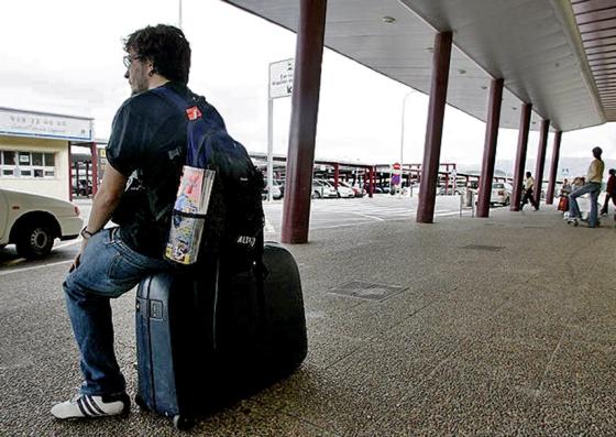 joven viajero