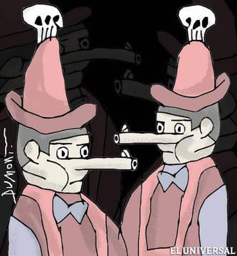 caricatura Félix Cordero