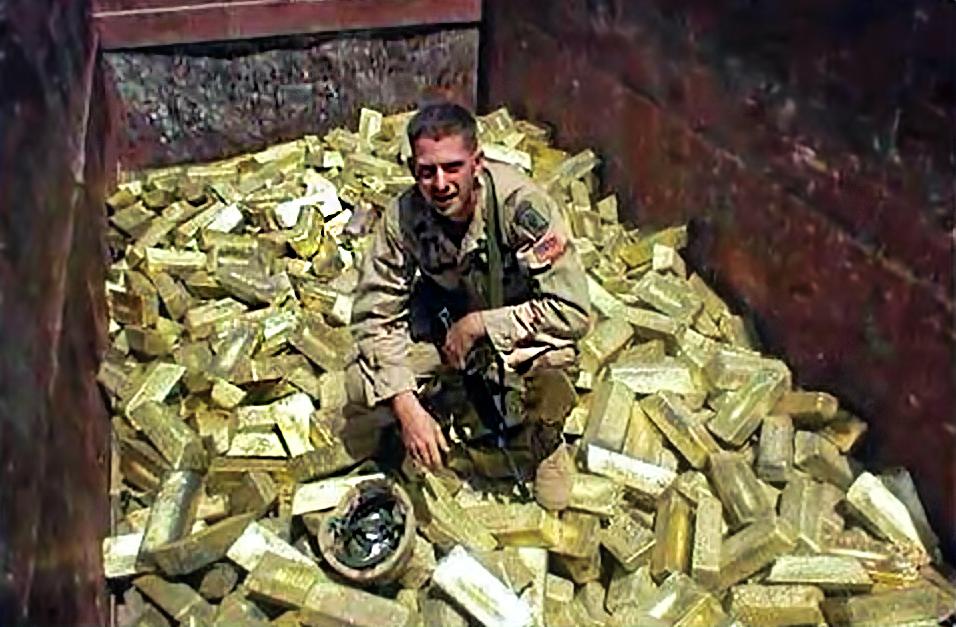 soldados oro
